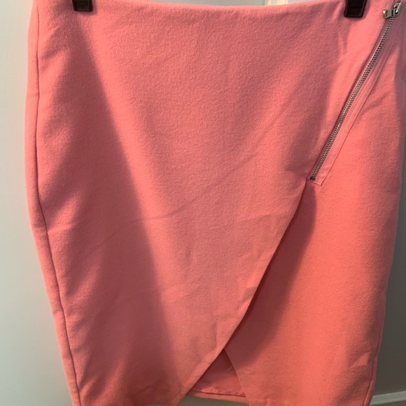 LOFT Dresses & Skirts - NWT Loft pink wool skirt
